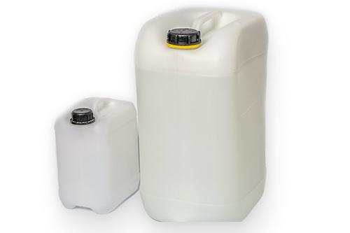 Kanister aus Polyethylen zur Entsorgung von Lösemittel Gefahrgutzulassung UN-X für Flüssigkeiten  5 Liter / 25 Liter