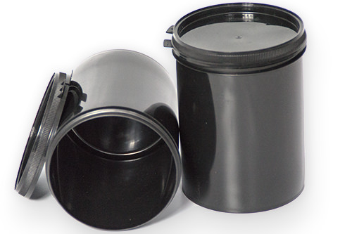 Kunststoffdose für Restfarbe mit Schraubverschluss 250 ml