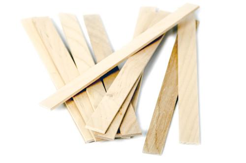 Holzrührstab 230x20x3mm