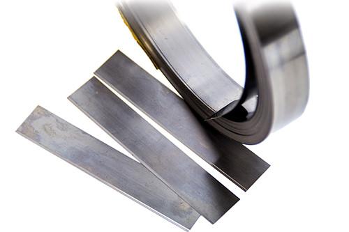 Rakelmesser für Kunststoffklischee Stärke 0,18/0,20 mm länger variierbar