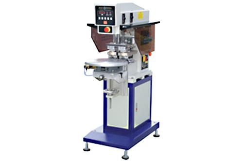 SP-824 RD      2- Farben Tampondruckmaschine mit Drehtisch